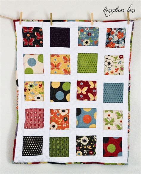 Quilting With Minky Tutorials by Charm Pack Minky Quilt Honeybear