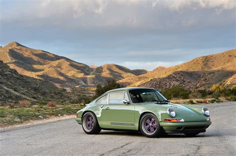 porsche singer photo gallery porsche 911 reimagined by singer in green