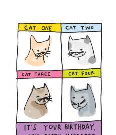 birthday card printable cat birthday card singing cats