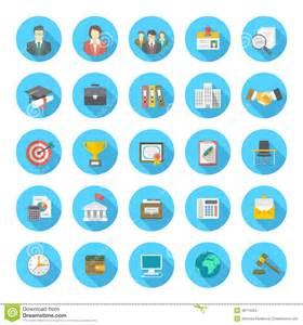 flat resume icons stock vector image 48716354