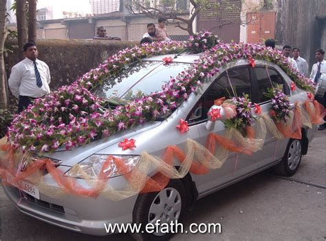 Image detail for  Indian Wedding Car Decoration Indian