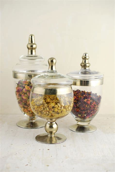 apothecary jars set of 3 small apothecary jars 8 10 quot