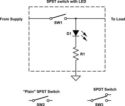 dpdt switch wiring diagram led indicator wiring diagrams