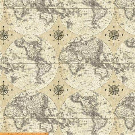 map fabric world maps 40026 x windham fabrics