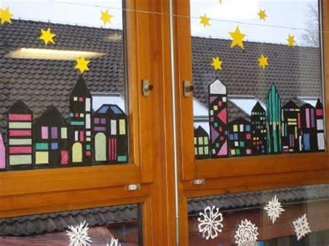 Weihnachtsdeko Fenster Grundschule by Fenster Dekoration Fenster Dekoration