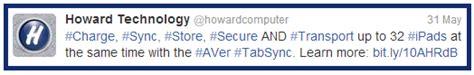 Aver Tabsync slip n slide howard technology