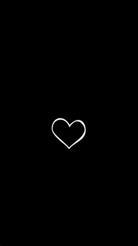 black and white wallpaper of god drawn heart iphone wallpaper idrop news