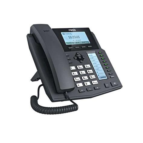 Fanvil X4 High End Enterprise Desktop Ip Phone Poe fanvil x5g ip phone valcom uk