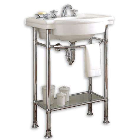 bathroom table stand bathroom american standard retrospect 27 console table