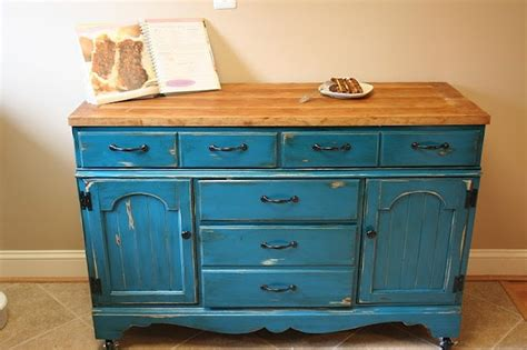 4 ways to upcycle your dresser into a kitchen island