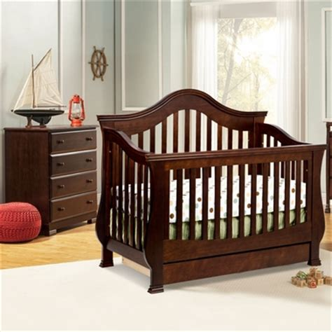 Million Dollar Baby Crib Set Million Dollar Baby 2 Nursery Set Ashbury Convertible Crib And Kalani 4 Drawer Dresser