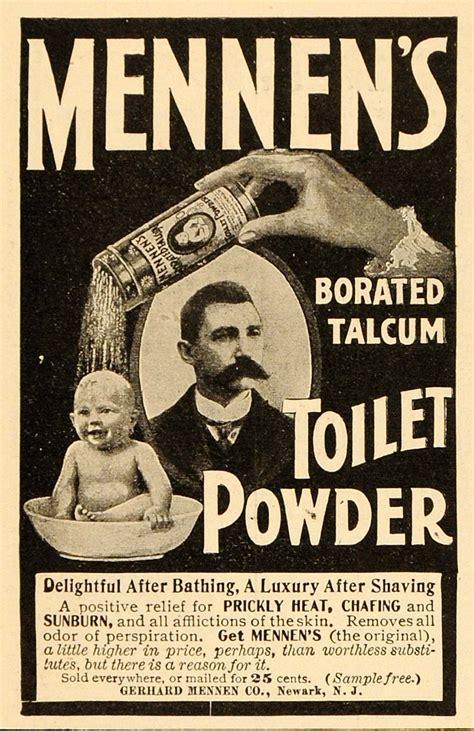 vintage bathroom advertisements 1901 vintage ad mennen s talcum toilet powder baby bath