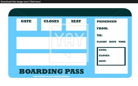 boarding pass blank aircraft boarding pass image yayimages com