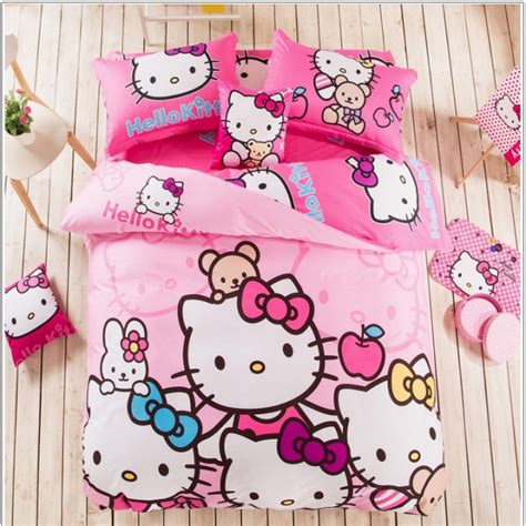 1 Set Cover Hello Pink hello bedding