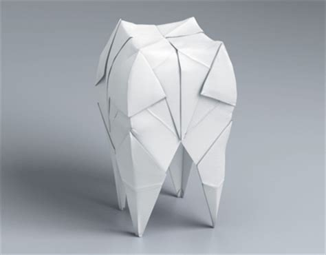 Origami Teeth - origami tooth on behance