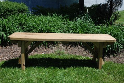 benches for rent 54 quot natural wooden bench rentals rustic wedding rental
