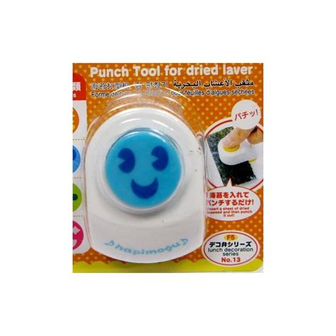 Smile Nori Puncher Limited japanese bento nori cut seaweed cutter puncher happy for seaw