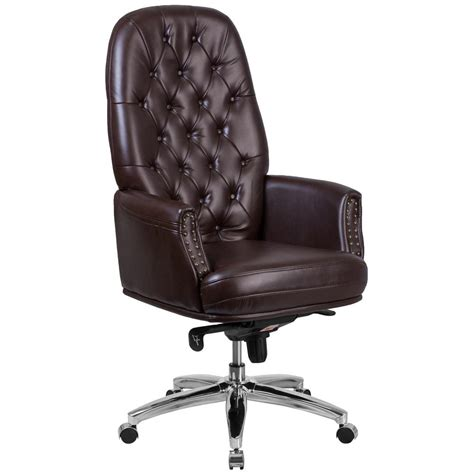 home depot desk chair flash furniture brown office desk chair bt90269hbn the