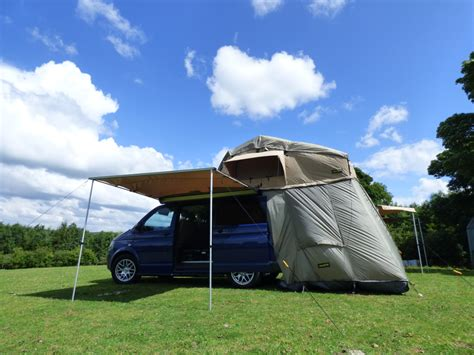 Vw T5 Tent Awning Vw T5 Transporter 3 Man Expedition Roof Tent Pop Up Boxed