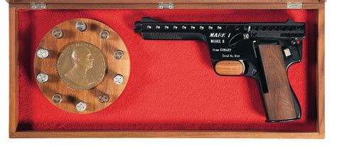 Mba Consignment Sale by Cased Mba One Model B Gyrojet Pistol Pistol Firearms