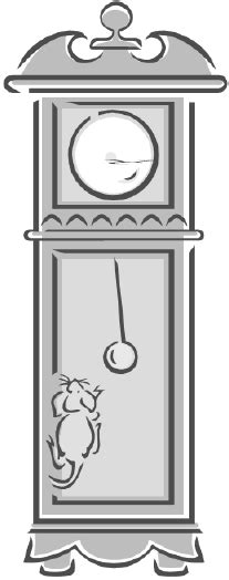 printable grandfather clock grandfather clock colouring pages