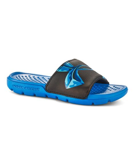 armour boys sandals boys armour strike chrome sandals ebay
