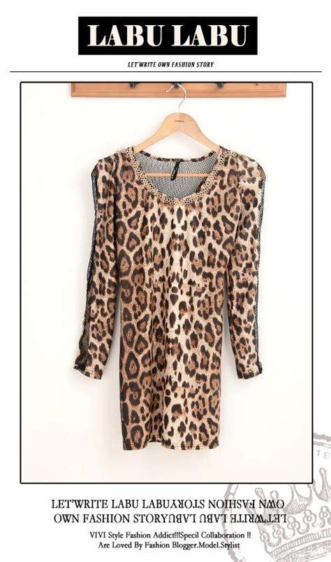 Baju Lengan Panjang Wanita Motif Salurfashionabelbagusmodishits baju leopard import lengan panjang terbaru model terbaru jual murah import kerja