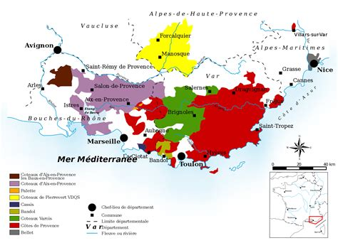map of provence essential guide to provence wine region with maps wine