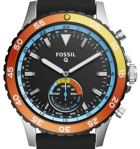 fossil q wander q marshal smart watches new smart analog watches ablogtowatch