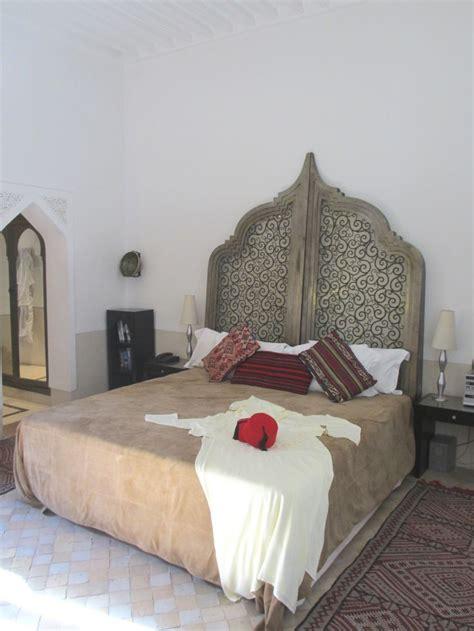 unique headboard bedrooms pinterest gorgeous headboard hotel review luxurious riad farnatchi
