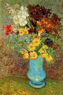 Van Gogh Flowers In A Blue Vase Art Amp Artists Vincent Van Gogh Flowers Part 2