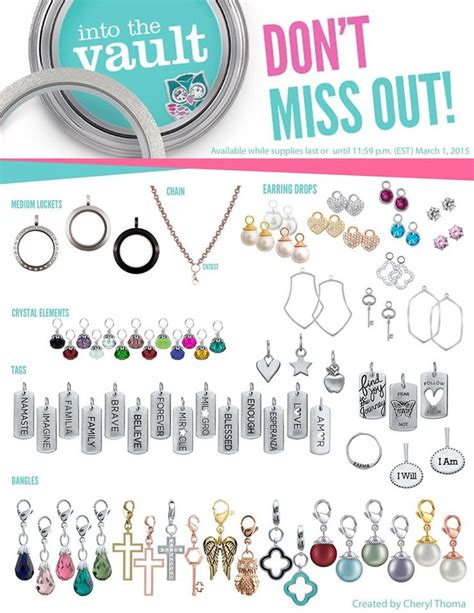 Origami Owl Shop - 264 best