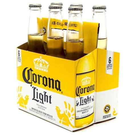 12 pack corona light corona light 12oz bottle 6 pack beer wine and