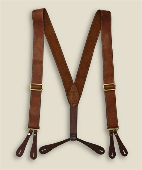 Any type of suspenders are fun. Zoom: Kika NY   Leather