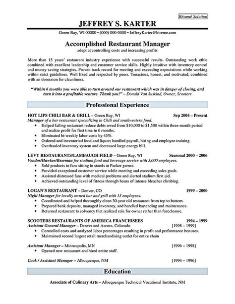99827677012 restaurant assistant manager resume 28