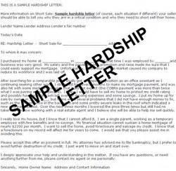 sample loan modification hardship letter loansafe org
