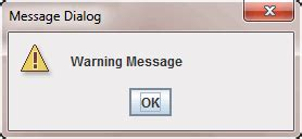 java swing alert how to use joptionpane to create dialogs
