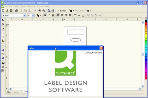 label layout software connect label design software software informer screenshots