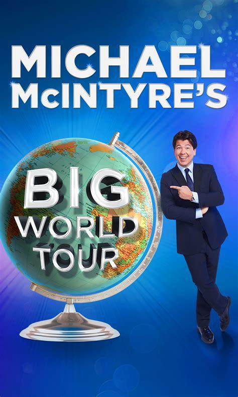 World Tour news world tour for michael mcintyre