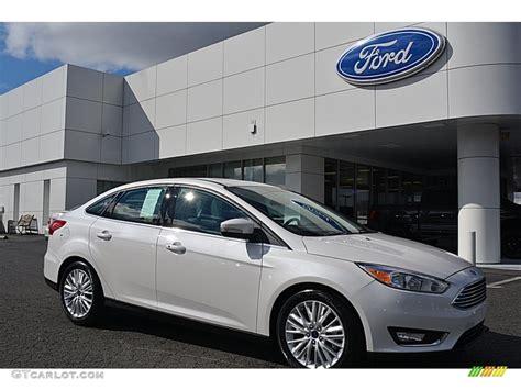 ford sedan white 2016 white platinum ford focus titanium sedan 110673364