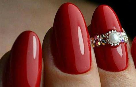 imagenes de uñas rojas y negras u 241 as decoradas color rojo u 241 asdecoradas club