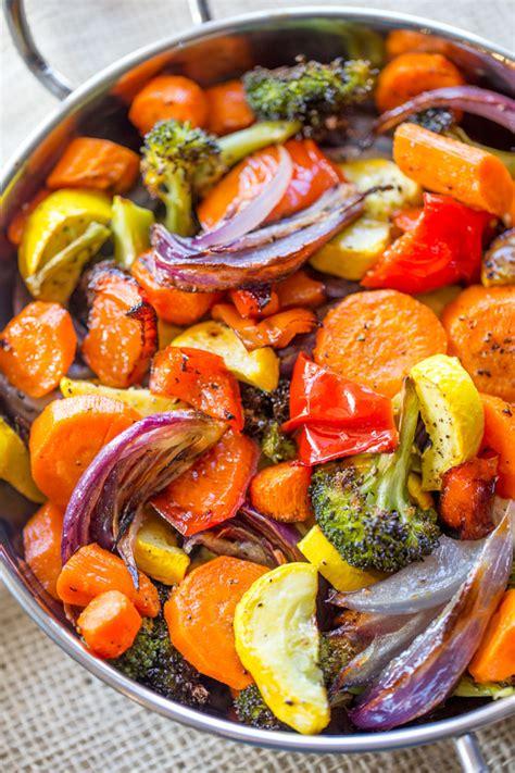 vegetables dinner rainbow roasted vegetables dinner then dessert