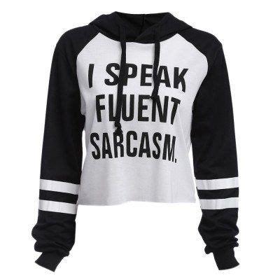 To Sweater Hodie Gender i speak fluent sarcasm sweater my style