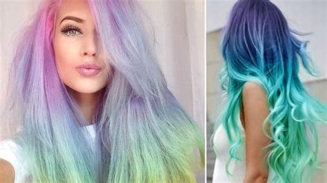 hair plats with color pastels plaits and rainbows 6 ways to wear rainbow hair