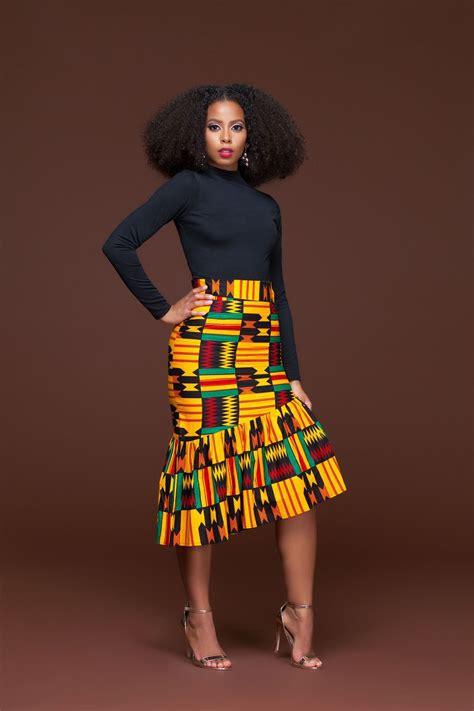 african pencil skirt styles african print ren pencil skirt african pinterest