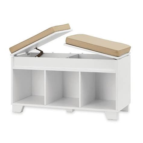 storage bench seat white white storage bench entryway mudroom organizer wood