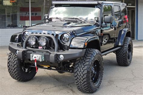 jeep wrangler with led light bar rigid industries 50 quot e series led light bar