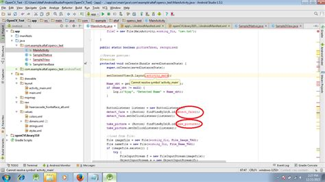 Android Cannot Resolve Symbol by Android Cannot Resolve Symbol Activity Main Xml