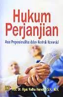 Buku Hukum Perjanjian Subekti toko buku rahma hukum perjanjian asas proposionalitas dalam kontrak komersial