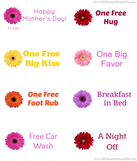 s day free free printable s day coupons my momma taught me